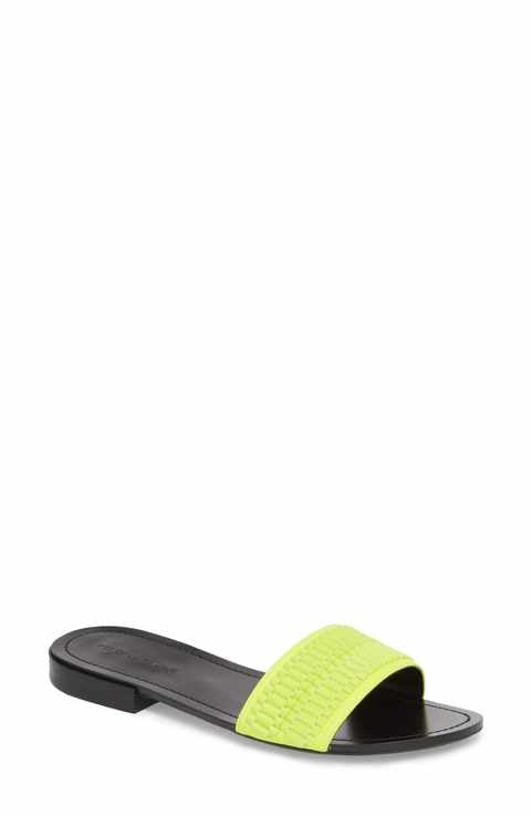 Kendall + Kylie Kennedy Jaune Fluo