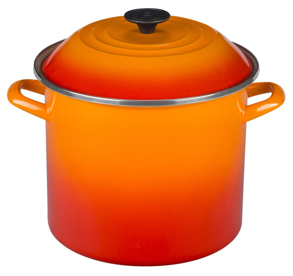 16 Qt. Stockpot-Flame