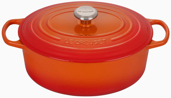 6.75 Qt Oval Oven-Flame