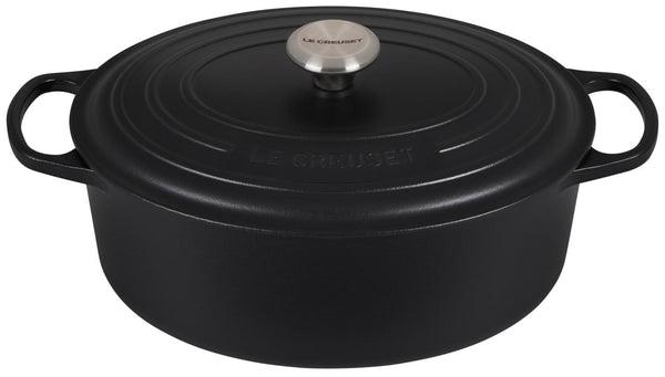 6.75 Qt Oval Oven-Licorice