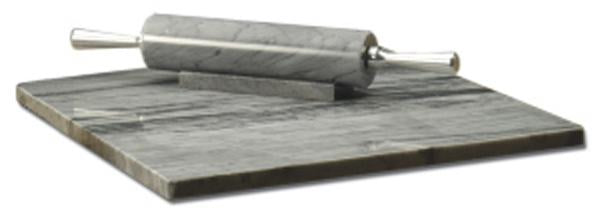 GREY MARBLE ROLLING PIN