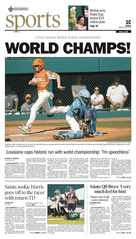 Louisiana's Eastbank Little League team wins World Championship