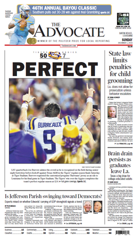 LSU vs. A&M - PERFECT