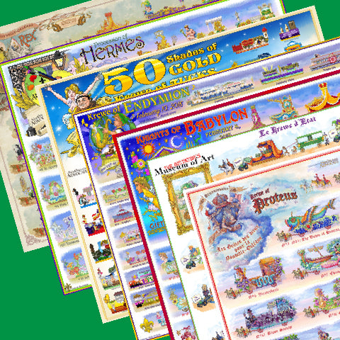2018 Carnival Bulletin Set on Newsprint