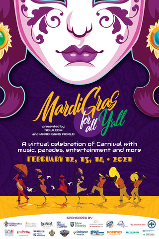 Mardi Gras for All Y'all - Poster 1