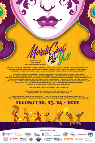 Mardi Gras for All Y'all - Poster 2