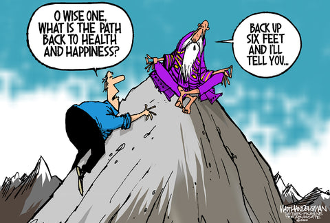 Limited Edition (50) Cartoon from Walt Handelsman - Wise One
