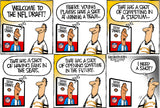 Set of 10 - Limited Edition (50) COVID-19 Cartoons signed by Walt Handelsman