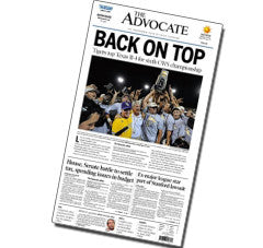 Back on top (2009 College World Series Front)