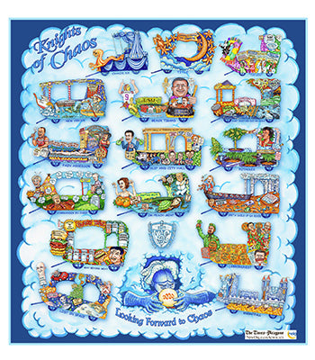Krewe of Chaos - 2020 Carnival Bulletin Poster