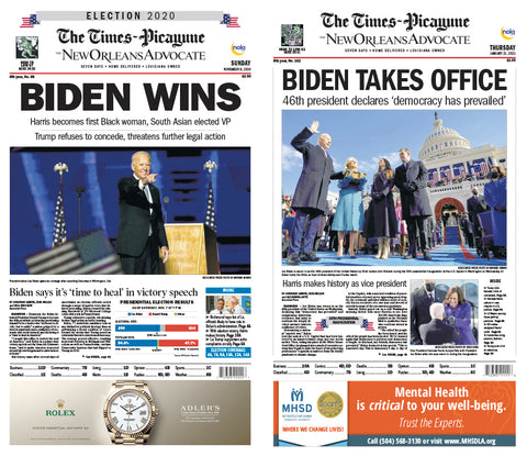 Biden Presidency 2-Poster Set
