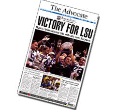 Victory for LSU