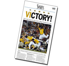 VICTORY! (2009 College World Series Front)