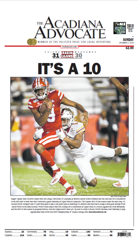Ragin Cajuns - IT'S A 10!