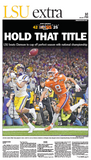 LSU vs. Clemson 2020 National Championship - HOLD THAT TITLE! 1C