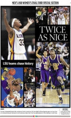TWICE AS NICE LSU 2006 Final Four