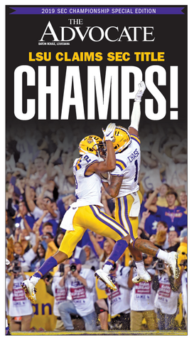 LSU vs. Georgia 2019 - SEC Champs!
