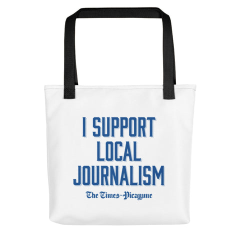 Tote Bag - I Support Local Journalism