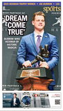 Sports Section - Joe Burrow Heisman Winner Front Page 1C