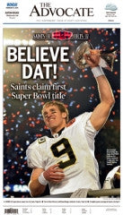 Saints Super Bowl victory