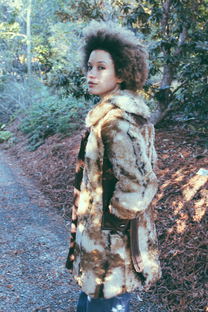 Foxy Brown 1960's Faux Fur Coat - The Power Plant