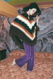 Galactic Gaze 1960's Purple Velvet Hip Hugger Bell Bottoms - The Power Plant