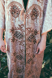 Occult Leader 1960's Rare Moroccan Embroidered Robe - The Power Plant