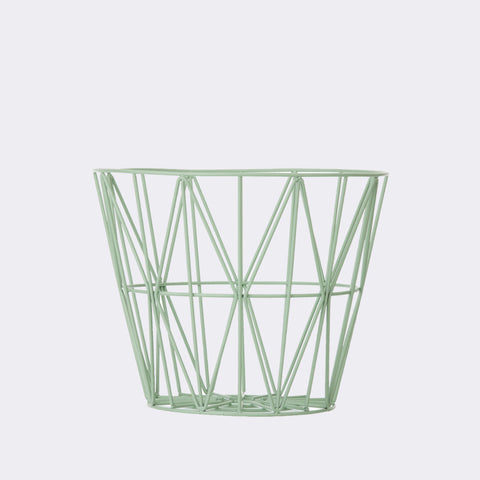 Kurv - wire basket mint