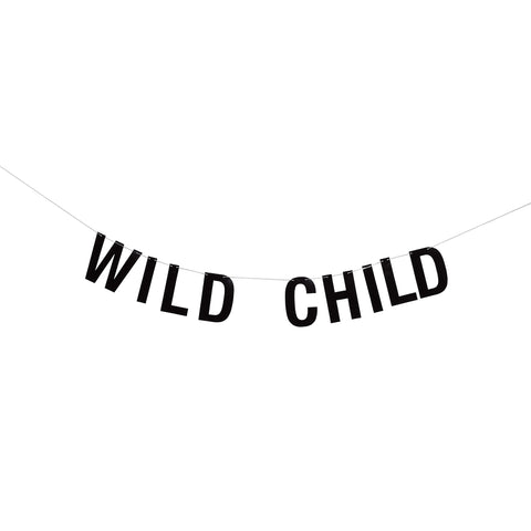 Guirlande - wild child - sort