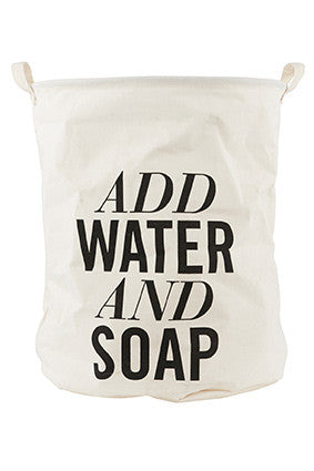 Opbevaringspose - add water and soap stor - kidzROOM