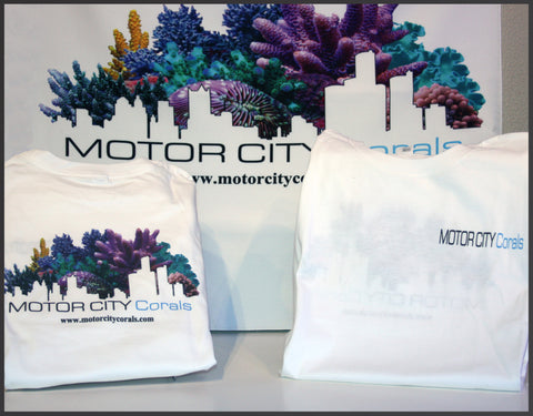 Motorcitycorals T- shirt, Short sleeve