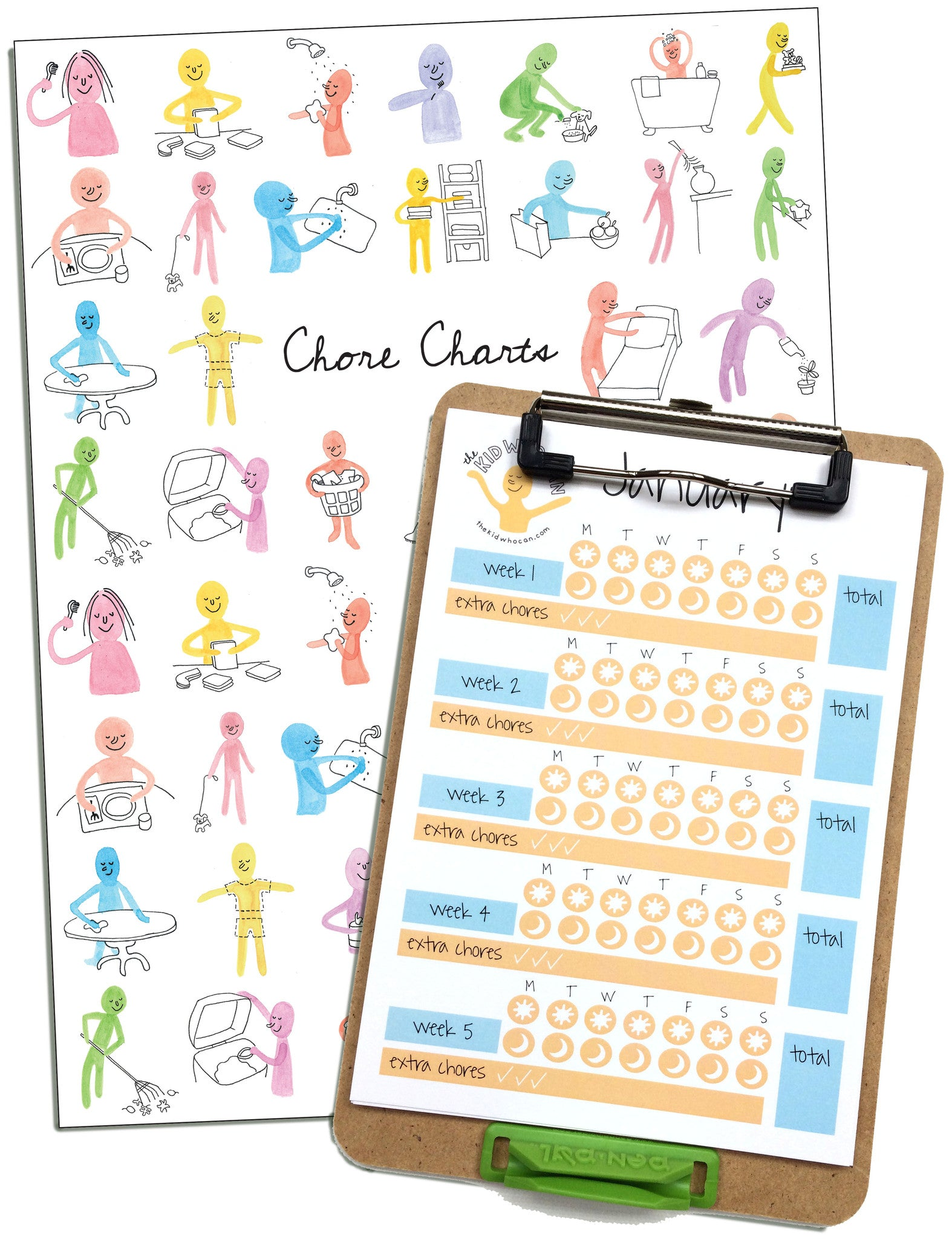 30e12b8a5ee4 The Complete Chore Chart System – The Kid Who Can