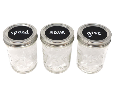 Spend-Save-Give Jars