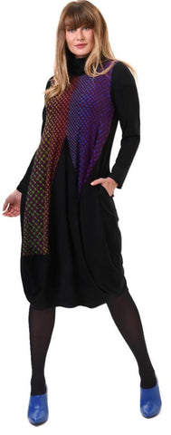 Knit Multicolored Dress