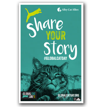 NEW! Global Cat Day 2018 Poster