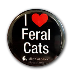 I Heart Feral Cats Buttons