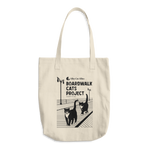 Boardwalk Cats Project Cotton Tote Bag