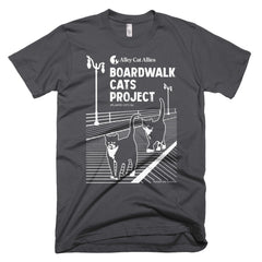 Boardwalk Cats Project Unisex T-Shirt