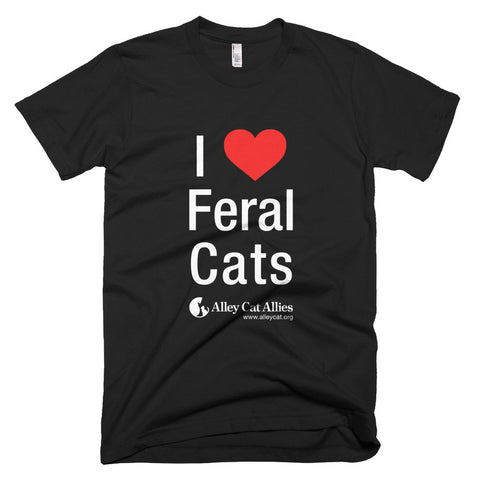 I Heart Feral Cats Unisex T-Shirt