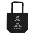 Keep Calm and Keep Loving Your Cats™ Tote Bag