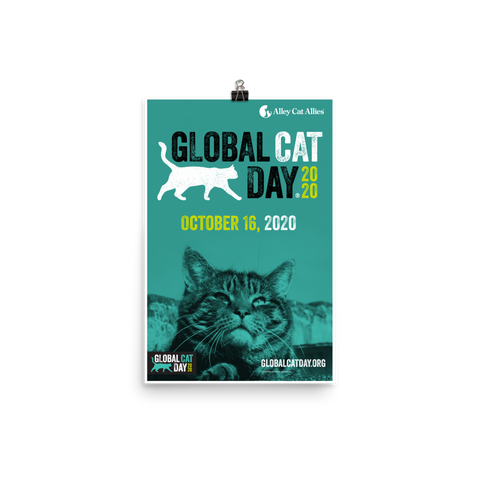 Global Cat Day 2020 Poster