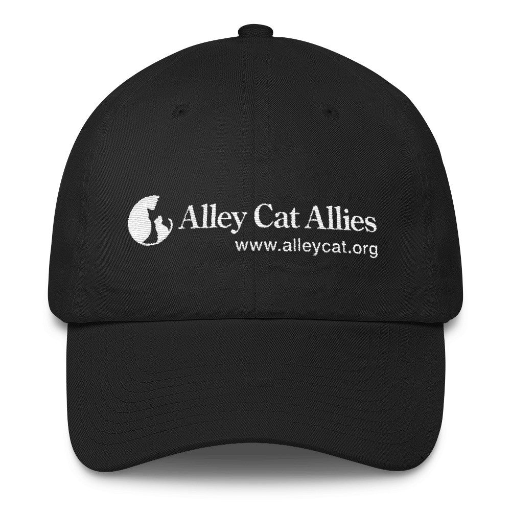Alley Cat Allies Cotton Logo Cap