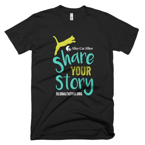 Global Cat Day 2018 - Share Your Story T-shirt