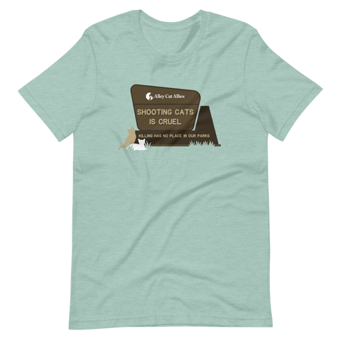 Shooting Cats is Cruel T-Shirt