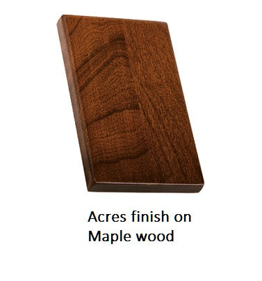 Acres finish on Maple wood