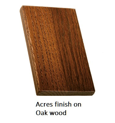 Acres finish on Oak wood