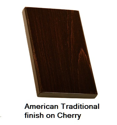 American Traditional finish on Cherry wood