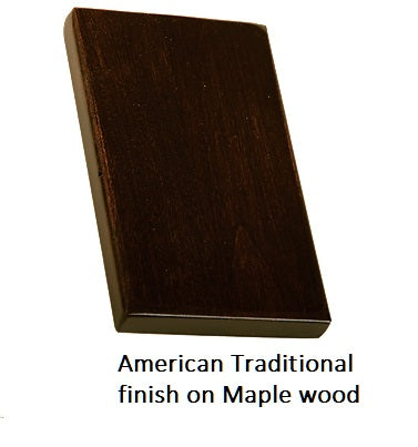 American Traditional finish on Maple wood