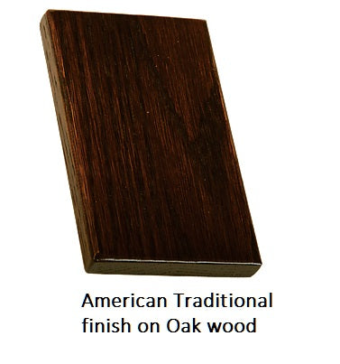 American Traditional finish on Oak wood