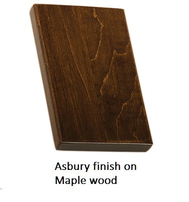 Asbury finish on Maple wood